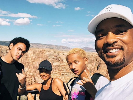 Will Smith Celebrated His 50th Birthday by Jumping Out of a Helicopter Over the Grand Canyon