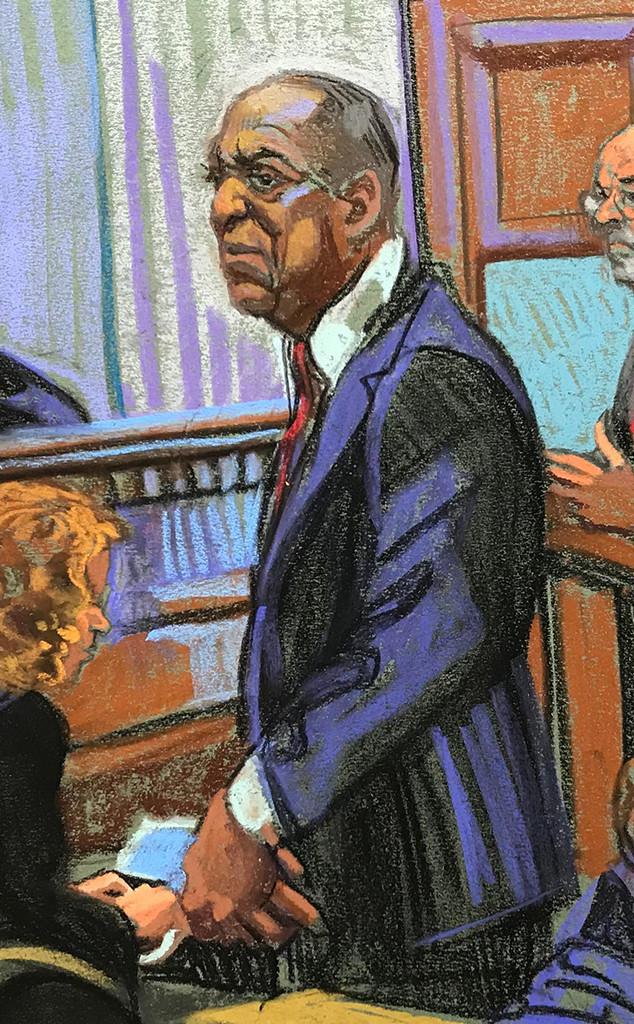 Bill Cosby, Court Sketch Sentencing