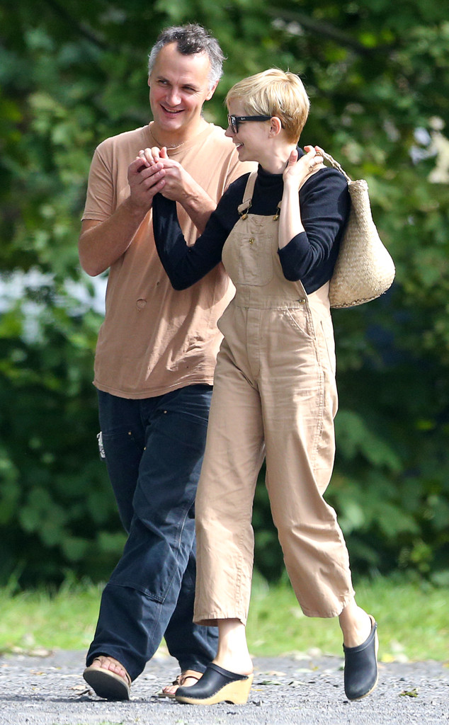 Michelle Williams Spotted With New Husband Phil Elverum