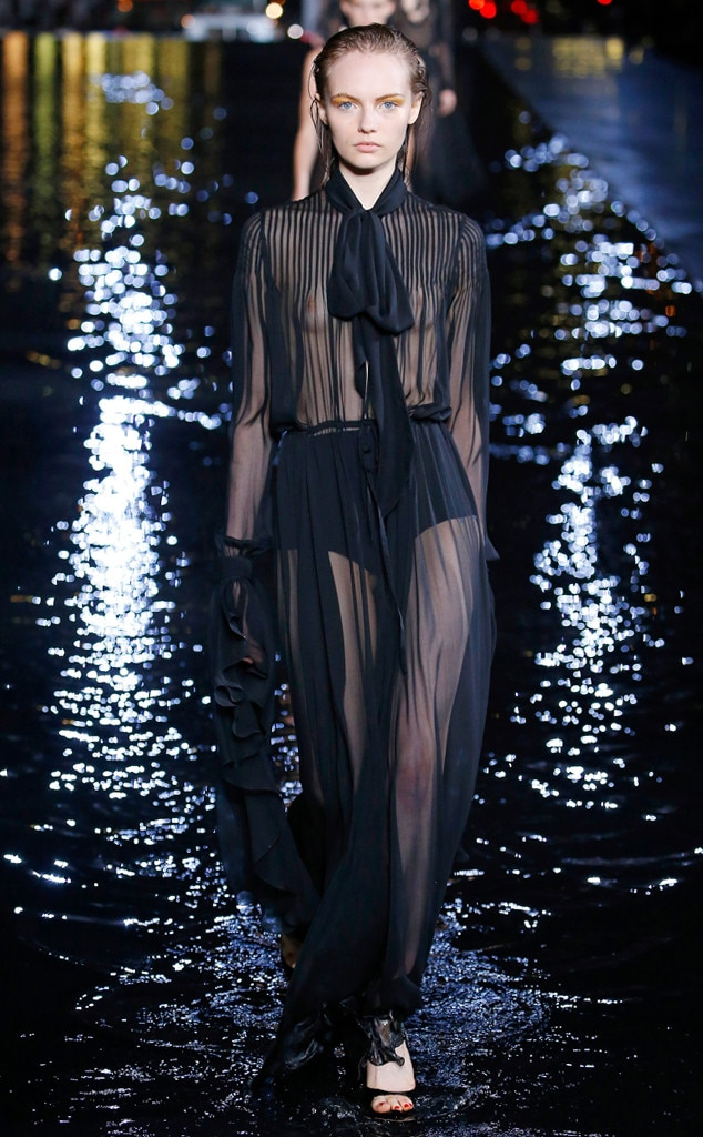 Saint Laurent From Best Looks At Paris Fashion Week Spring 2019 E