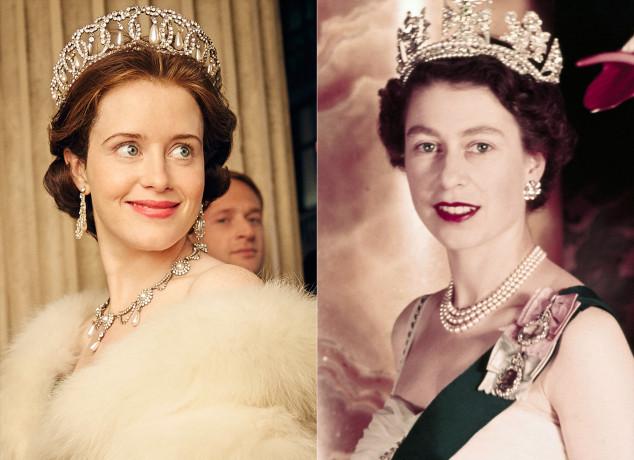 The Crown, Reina Isabel