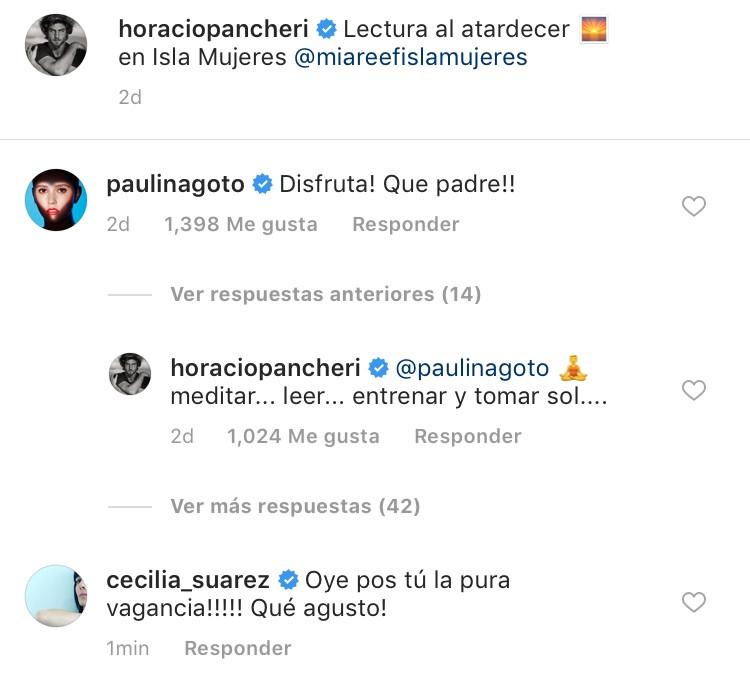 Horacio Pancheri, Paulina Goto