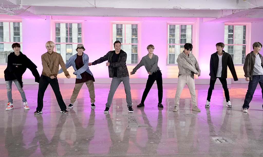 Bts Jimmy Fallon Perform The Fortnite Dance Challenge All World Report