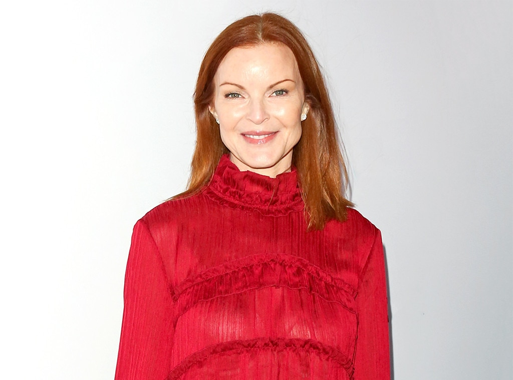 """Marcia Cross -  The  Desperate Housewives  star revealed to fans in September 2018 that she survived anal cancer. """"After posting a picture of myself here and uttering the words #cancer and #hairloss, I feel liberated, deliriously free and completely me,"""" she shared on  Instagram ."""