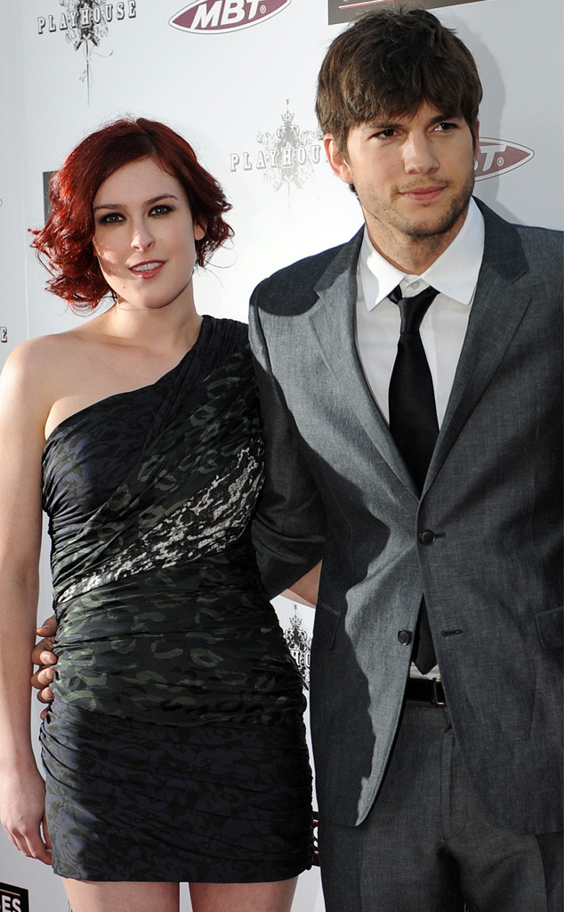 Rumer Willis, Ashton Kutcher