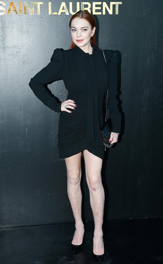 Lindsay Lohan, Paris Fashion Week