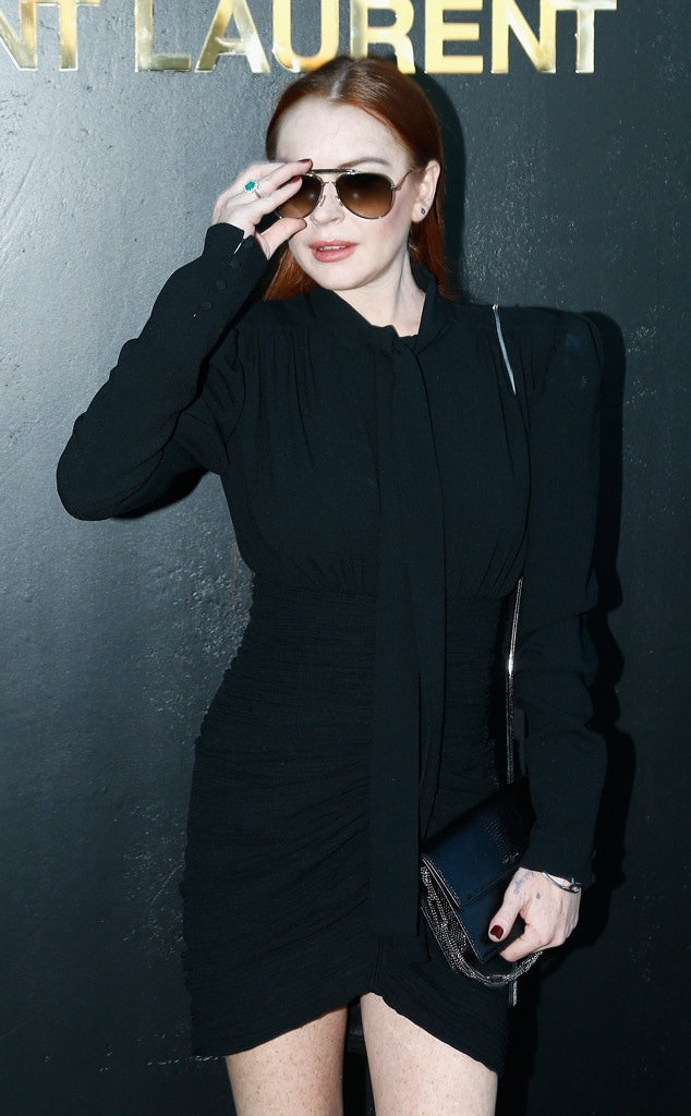 Lindsay Lohan, Paris Fashion Week