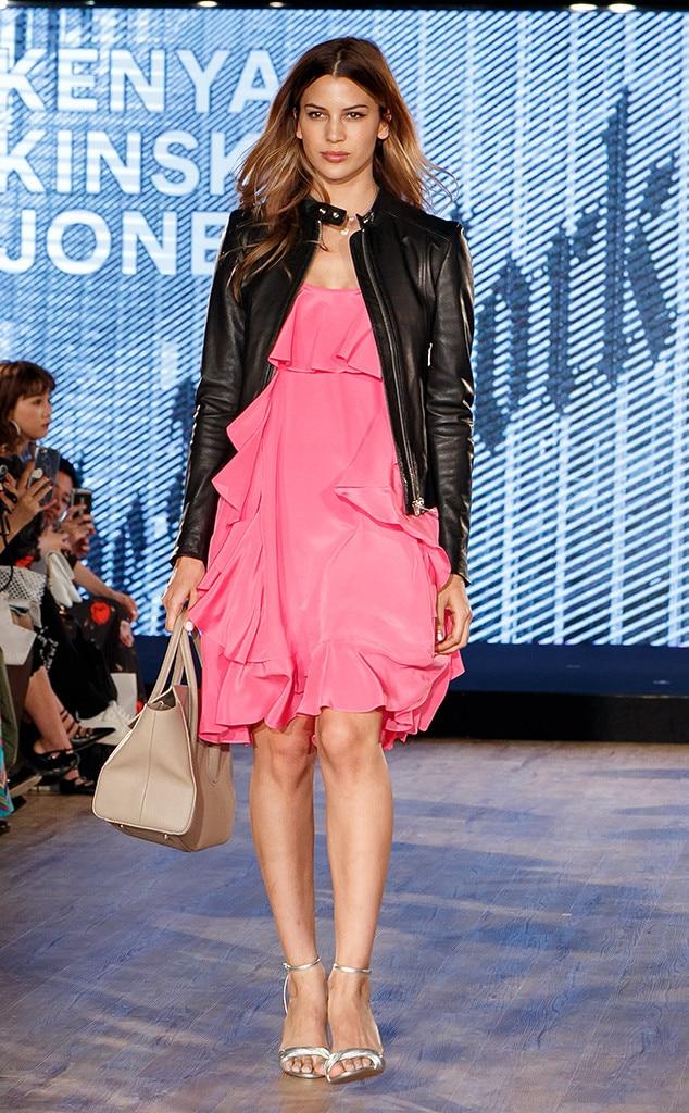 Kenya Kinski-Jones, Modeling