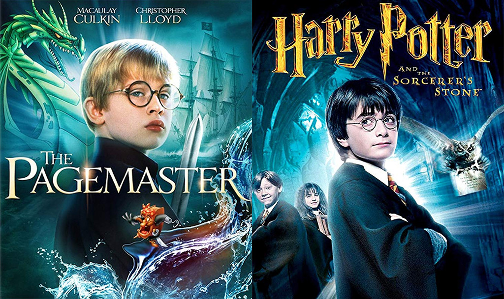 Macaulay Culkin, Pagemaster / Daniel Radcliffe / Harry Potter
