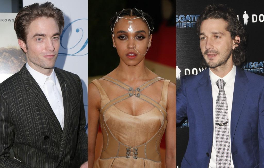 Robert Pattinson, FKA twigs, Shia LaBeouf
