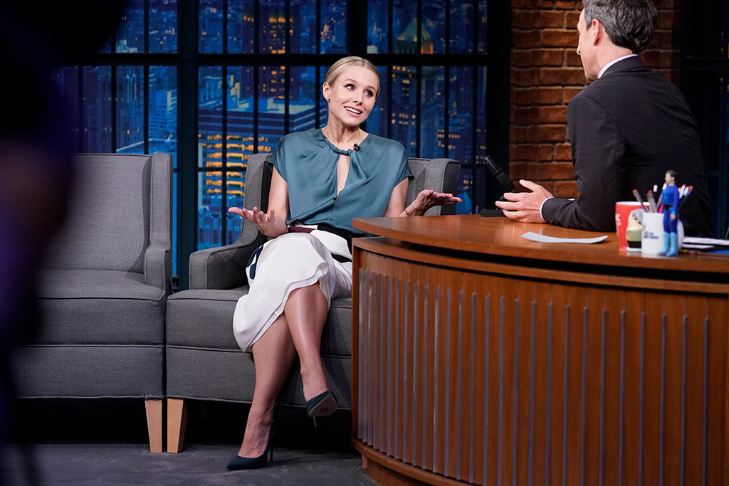 Kristen Bell, Late Night With Seth Meyers
