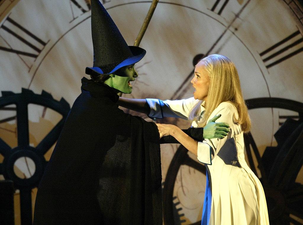Idina Menzel, Kristin Chenoweth, Wicked