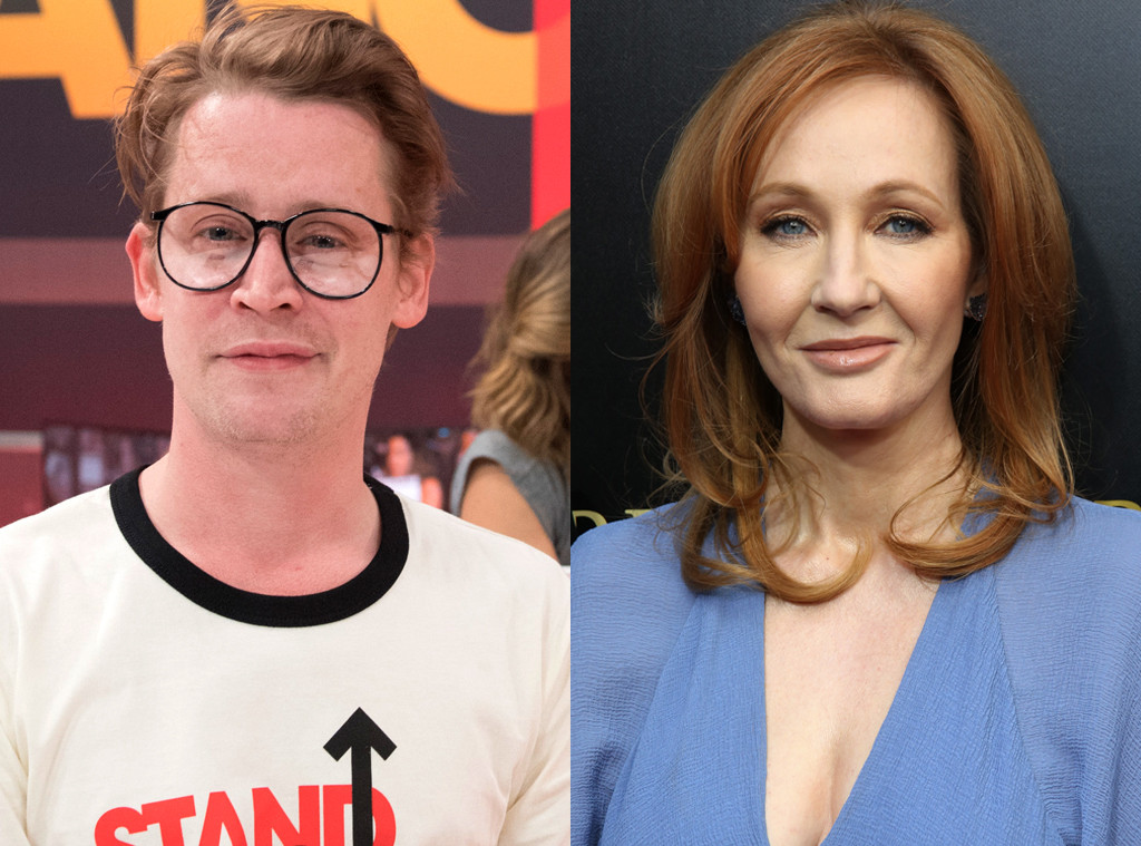 Macaulay Culkin Tweets Jk Rowling His Résumé E News