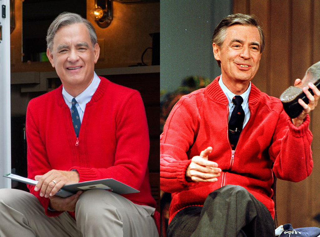 Tom Hanks Is Mister Rogers In First Look At You Are My Friend E Online Uk