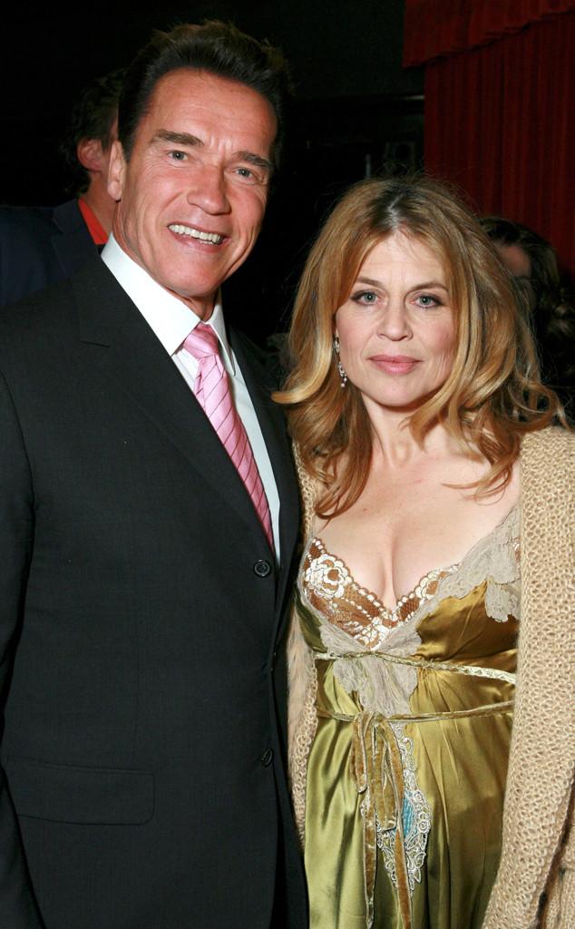 Arnold Schwarzenegger, Linda Hamilton