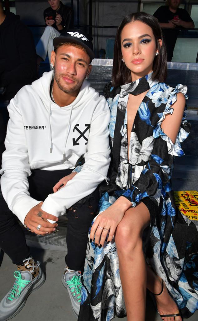 Neymar, Bruna Marquezine, Paris Fashion Week