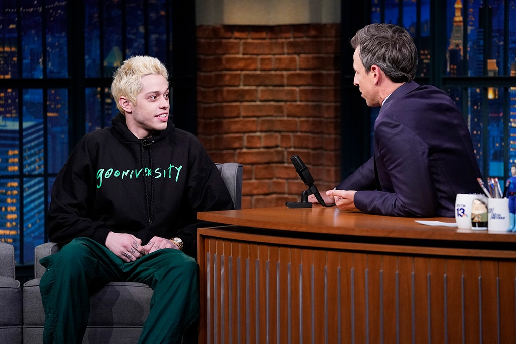 All the Times Pete Davidson Mentioned Ariana Grande on SNL Premiere