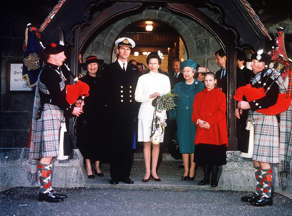 Timothy Laurence, Princess Anne, 1992 Wedding