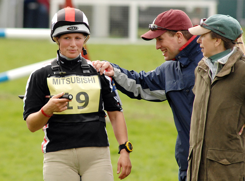 Peter Phillips, Zara Phillips, Princess Anne