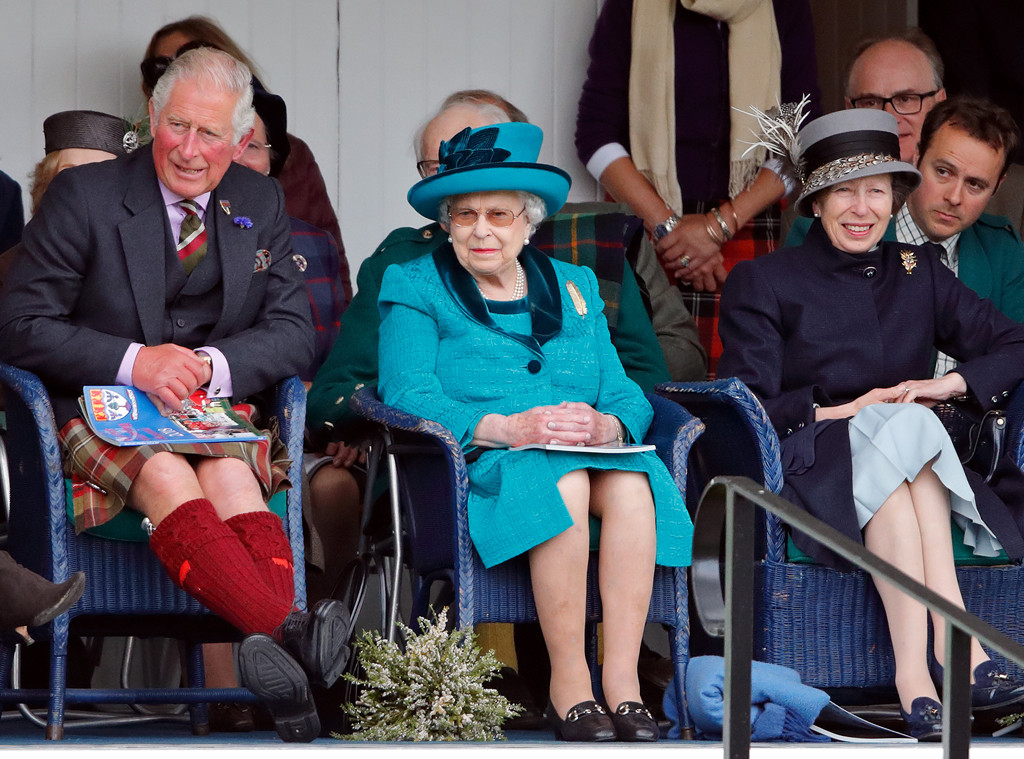 Prince Charles, Queen Elizabeth, Princess Anne
