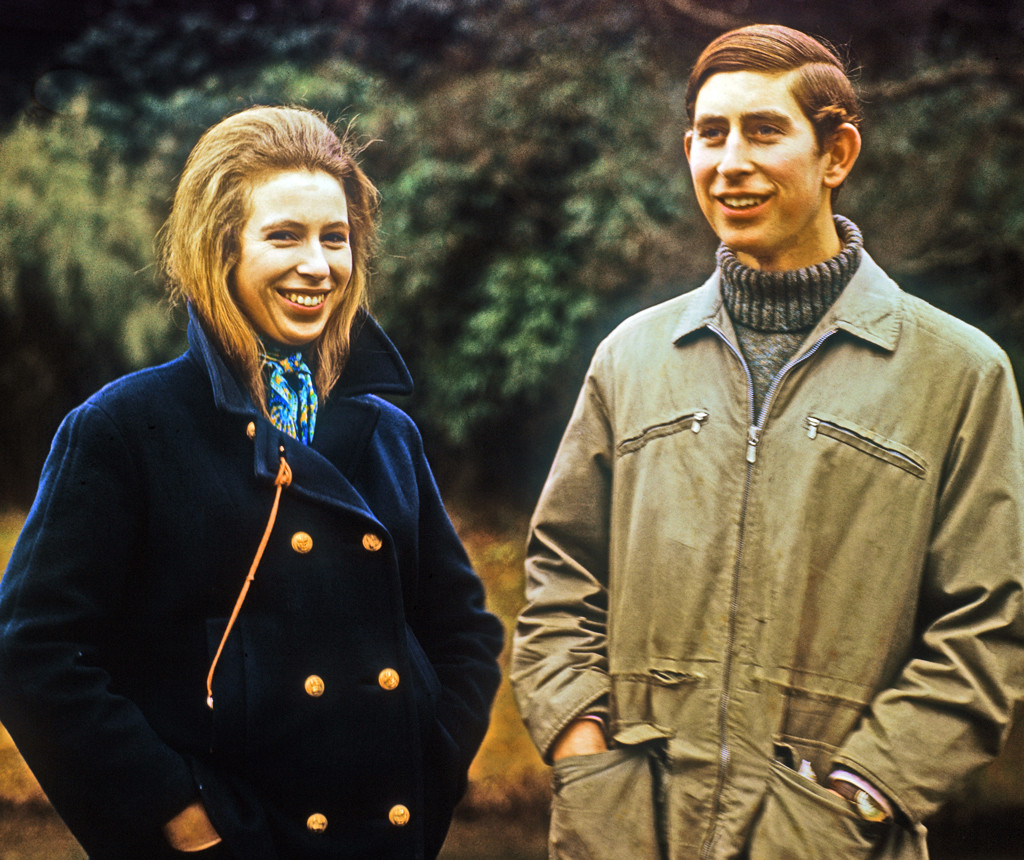 Image result for prince charles and anne as teenagers
