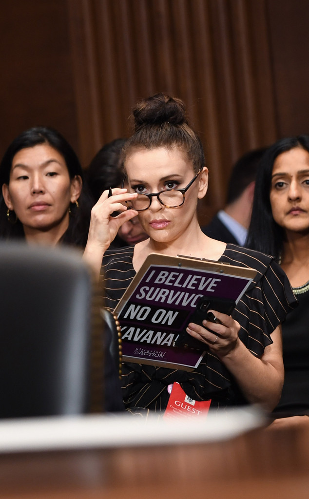 Alyssa Milano Expresses Support For Sexual Assault
