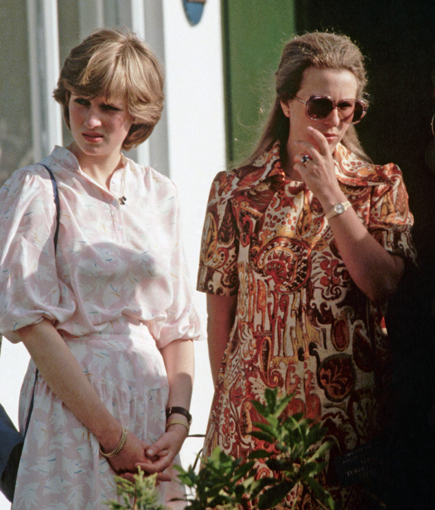 Princess Diana, Princess Anne, 1981
