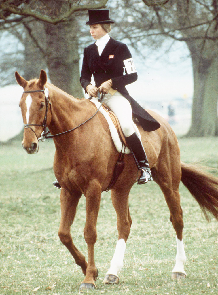Princess Anne, Horse Trials, 1980's