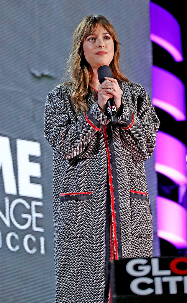 Dakota Johnson, 2018 Global Citizen Festival