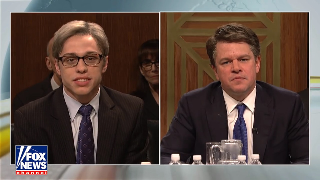Pete Davidson, Matt Damon, Brett Kavanaugh, SNL