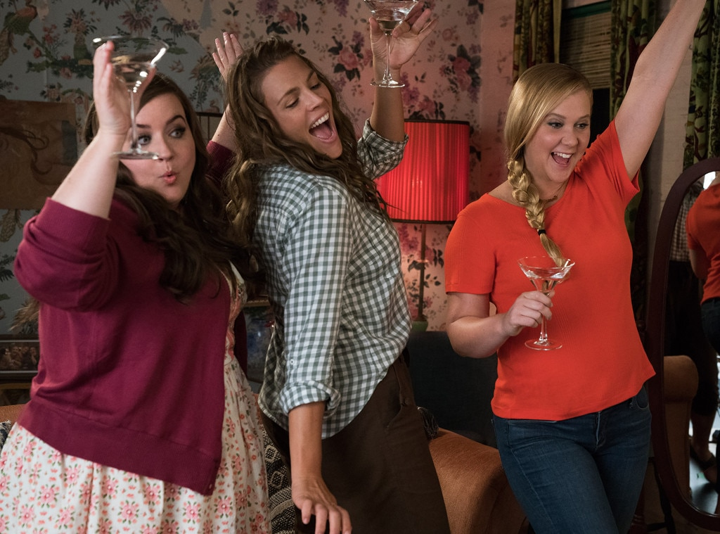 I Feel Pretty  -  Busy played  Amy Schumer 's supportive bestie in the '18 comedy flick  I Feel Pretty .