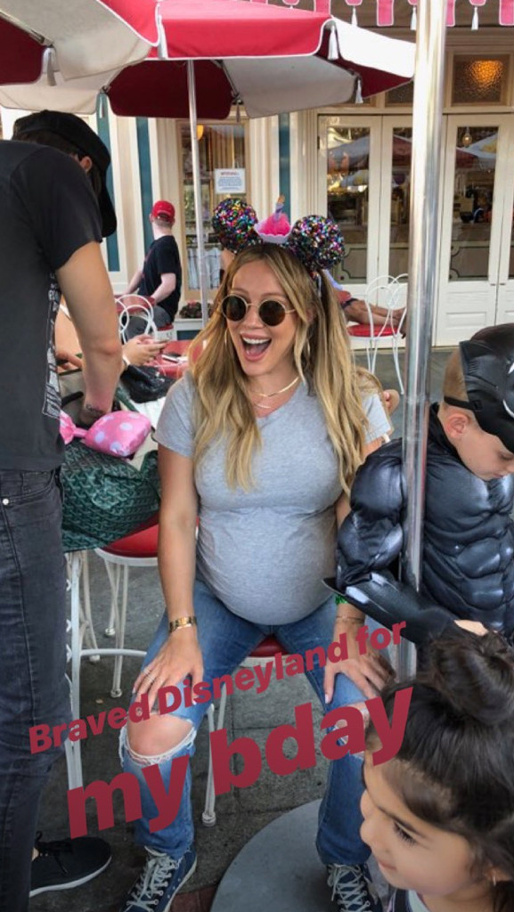 Hilary duff due date in Melbourne
