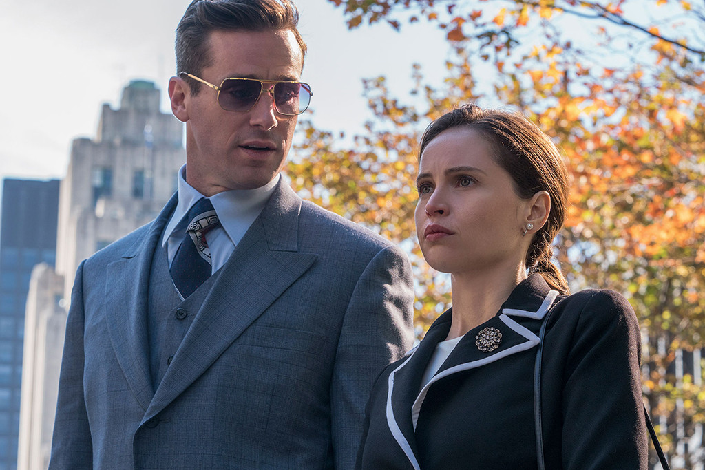 How Felicity Jones Transformed Into Ruth Bader Ginsburg For Movie E Online