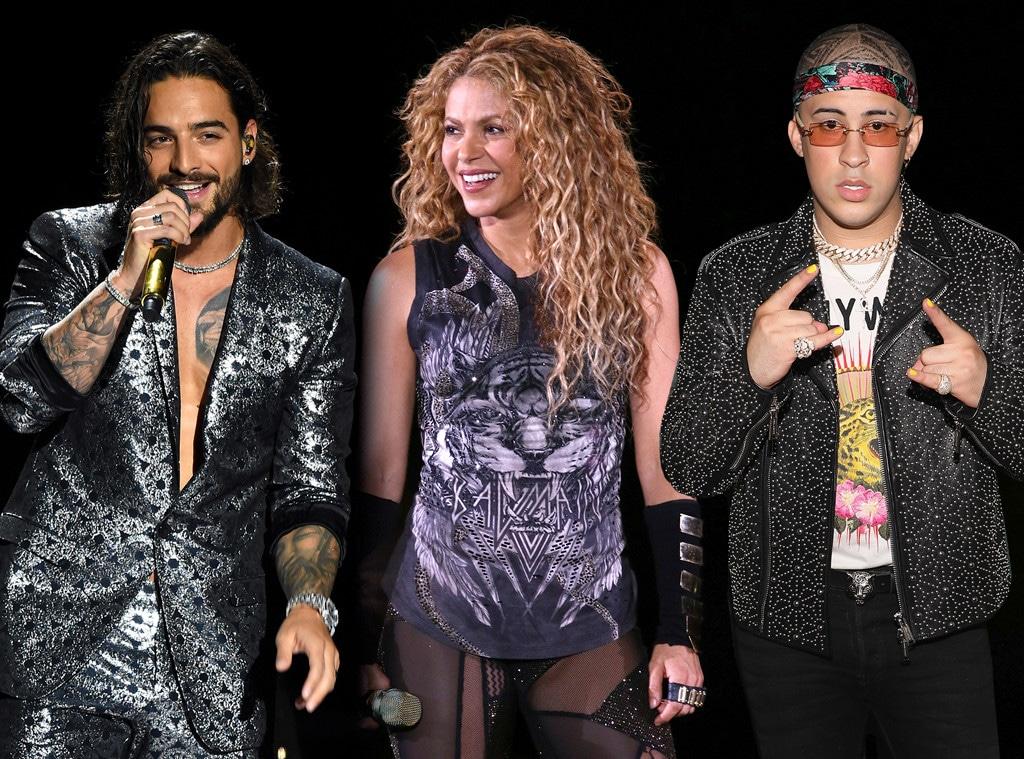 Maluma, Shakira, Bad Bunny