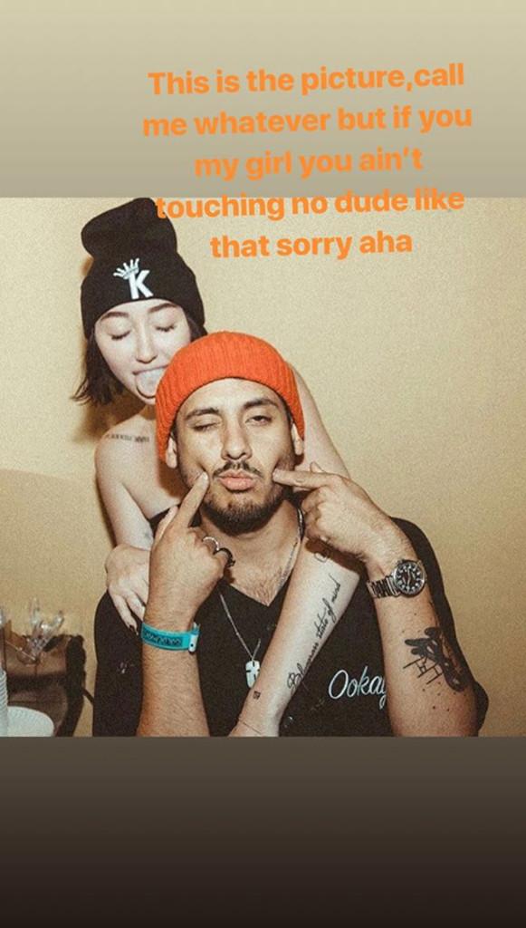 Noah Cyrus, Lil Xan, Instagram