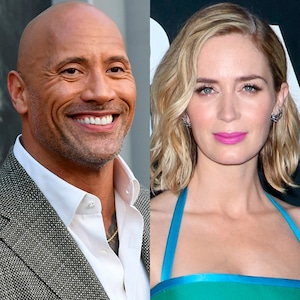 Dwayne Johnson, Emily Blunt