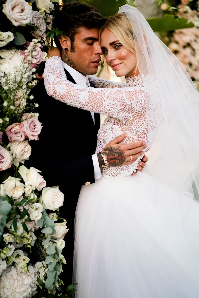 Chiara Ferragni Fedez Wedding