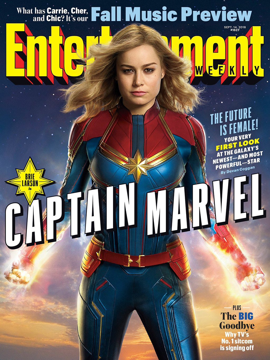 Brie Larson Looks Powerful in Captain Marvel First Look ...