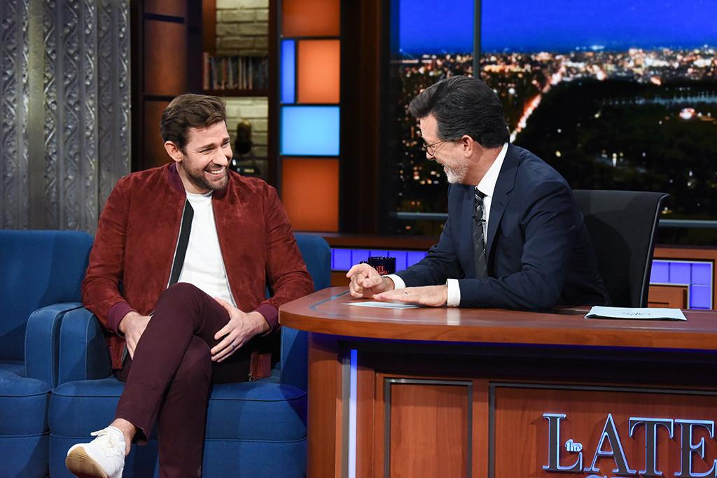 John Krasinski, The Late Show