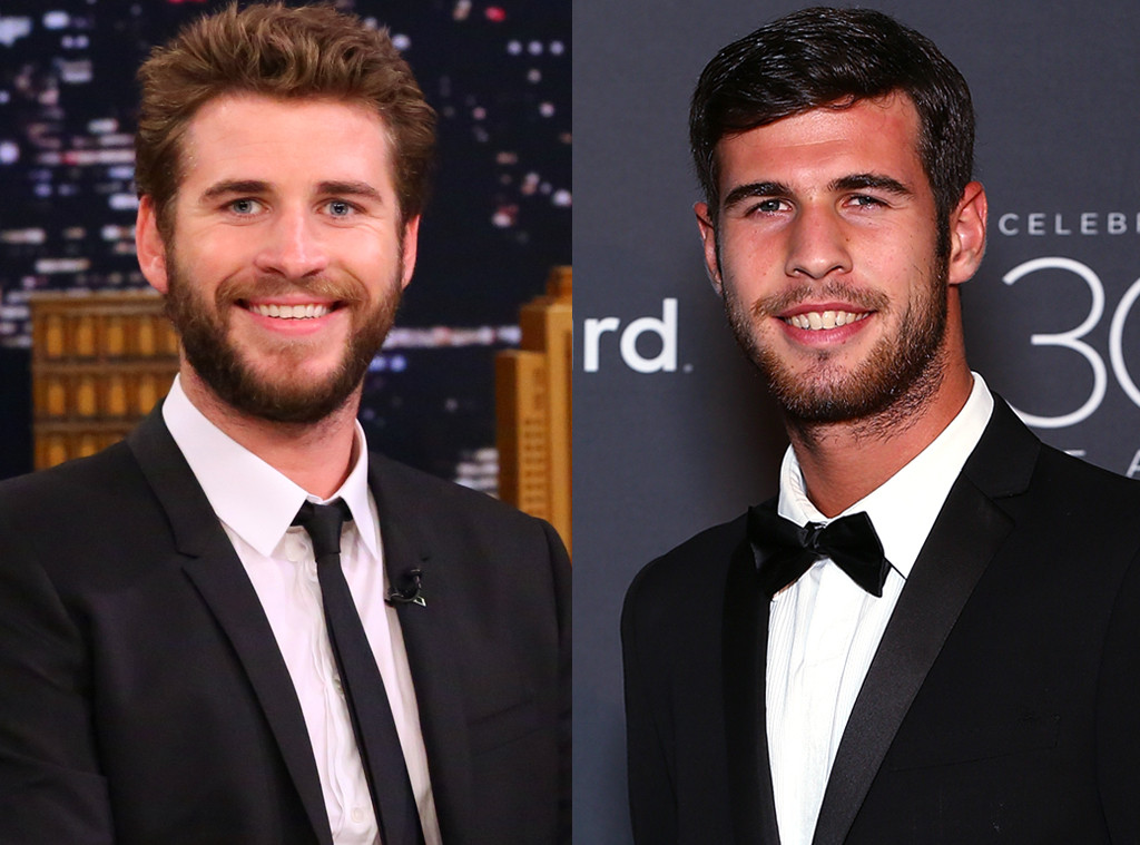 Liam Hemsworth, Karen Khachanov