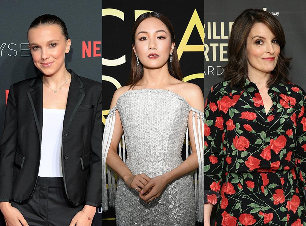Millie Bobby Brown, Constance Wu, Tina Fey, Emmy Presenters