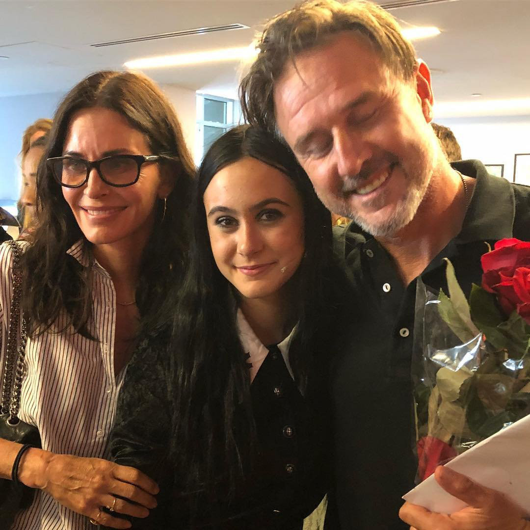 Courteney Cox, David Arquette, Coco Arquette