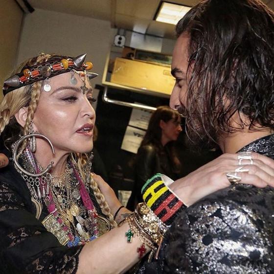 Madonna, Maluma, Instagram