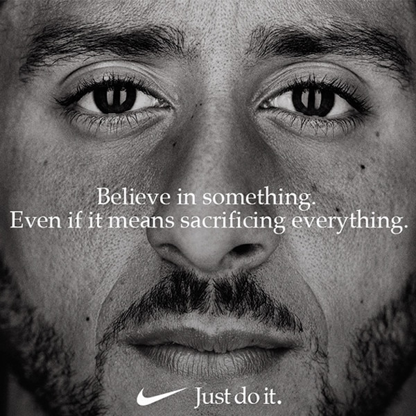 Colin Kaepernick's Nike Sneakers Sell Out in Minutes