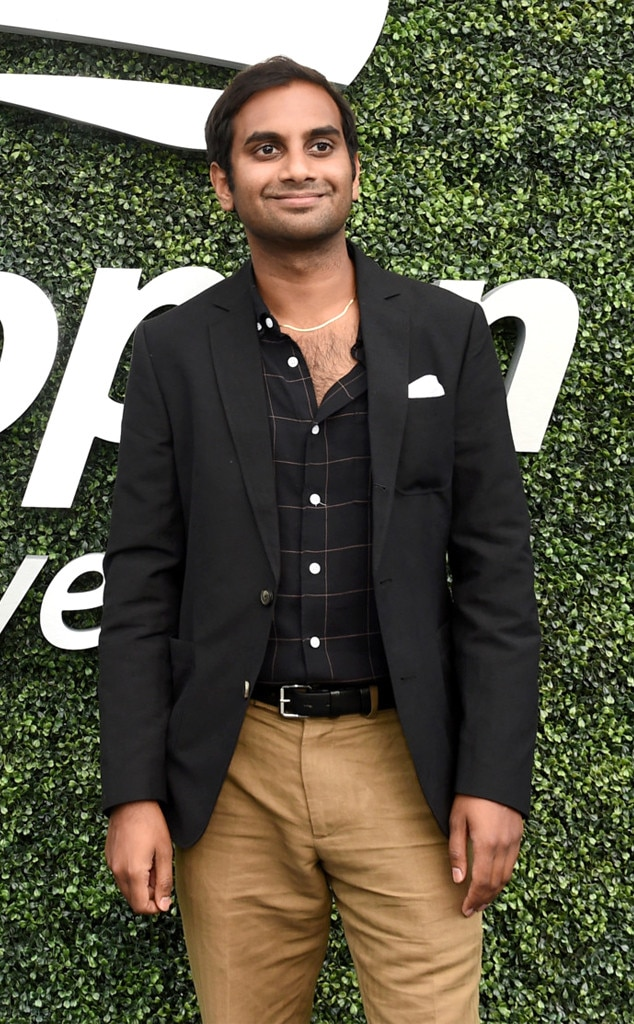 Aziz Ansari, 2018 US Open