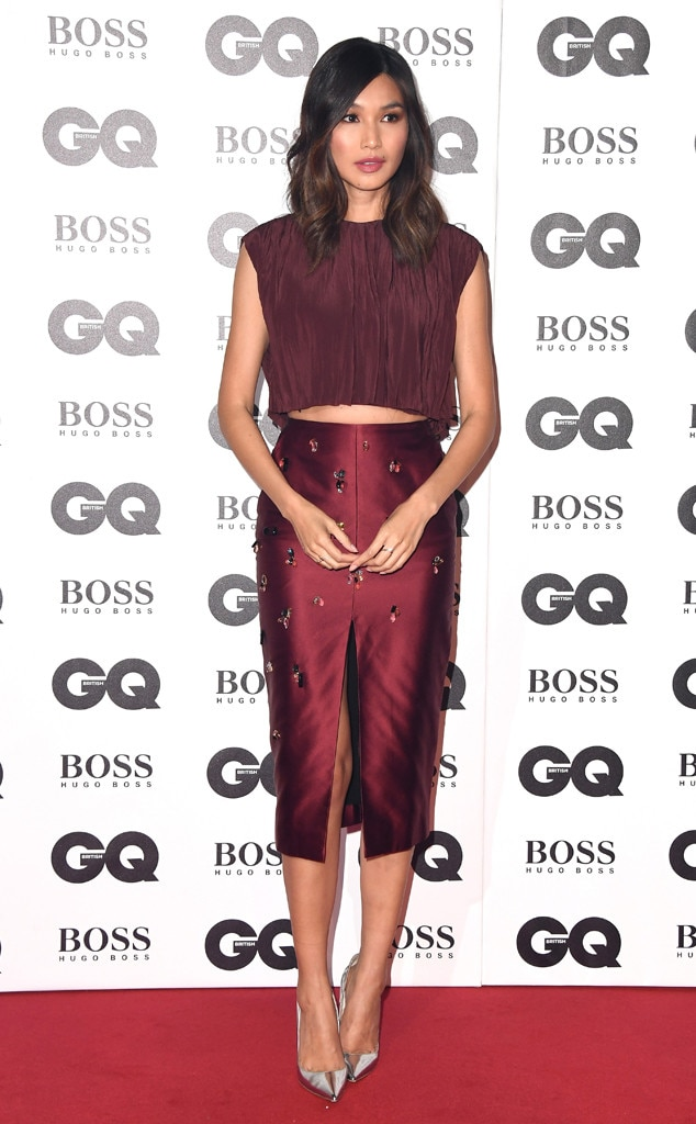 Gemma Chan -  The breakout star of Crazy Rich Asians turns heads in a Jason Wu two-piece ensemble.