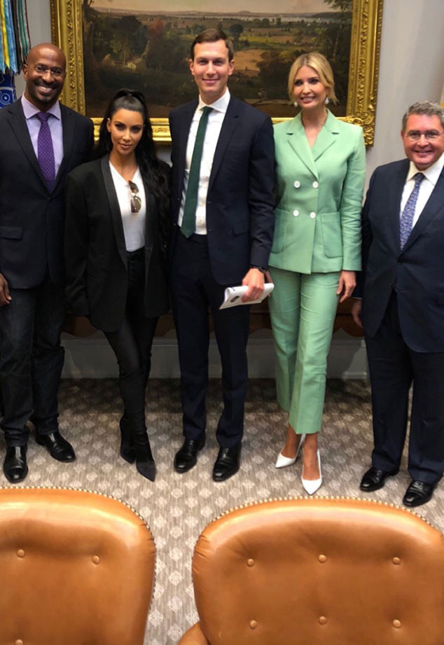 Ivanka Trump, Jared Kushner, Kim Kardashian, White House