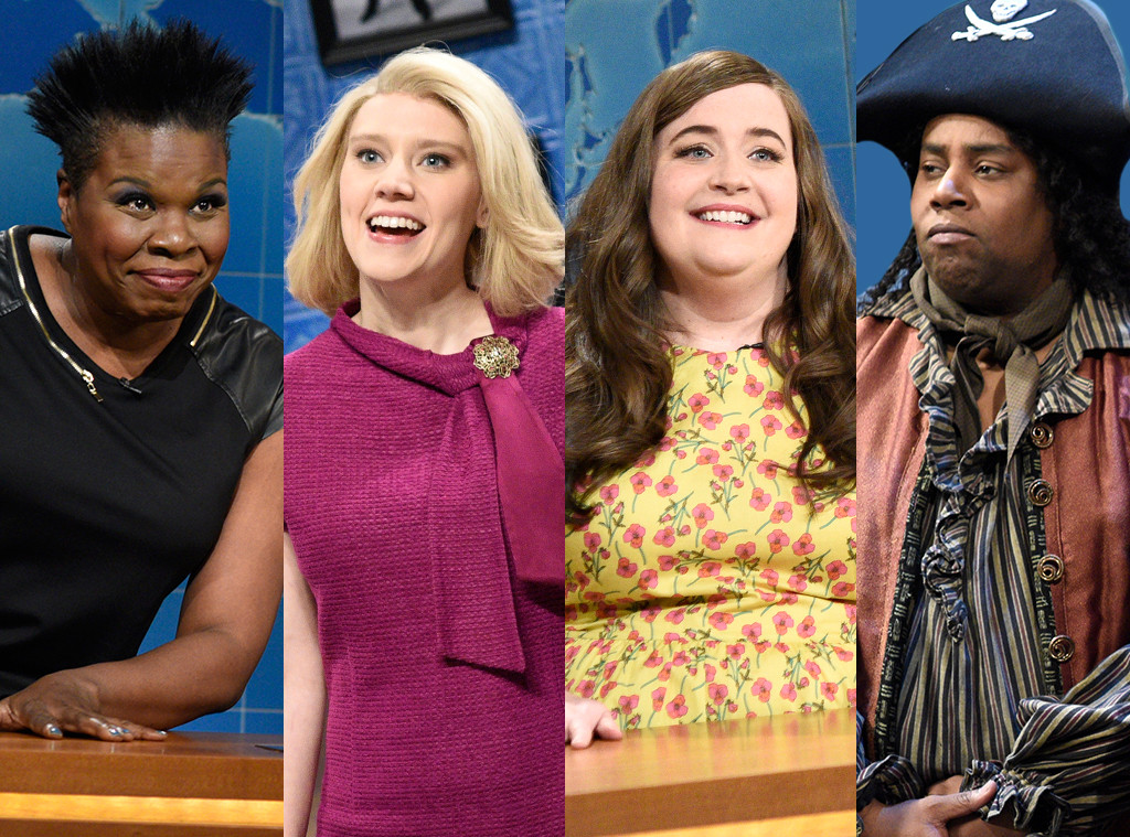 Saturday Night Live, Leslie Jones, Kate McKinnon, Aidy Bryant, Kenan Thompson