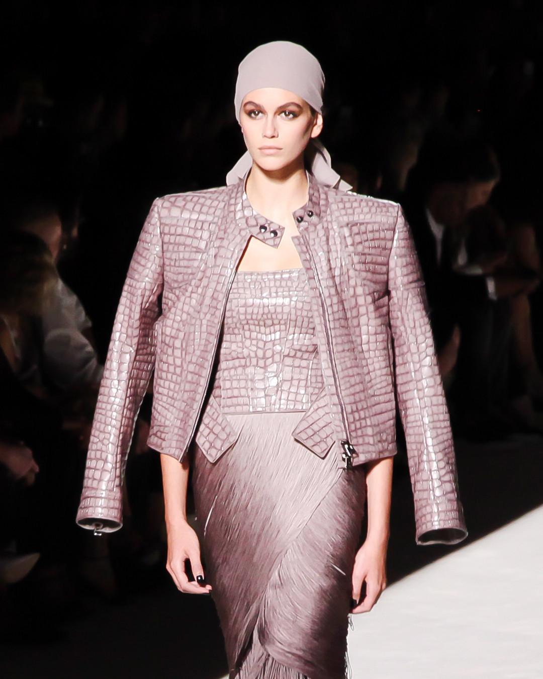 ESC: NYFW Best Looks, Tom Ford, Kaia Gerber
