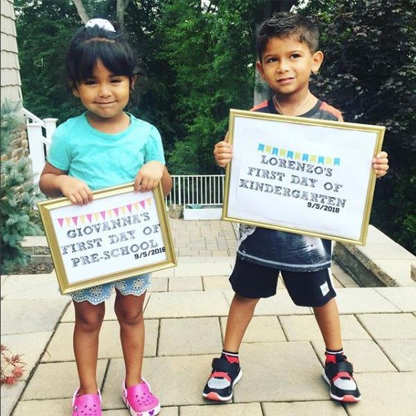 Nicole Snooki Polizzi & Jionni LaValle From Celeb Kids